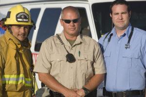 Firefighter, Sheriff, EMt